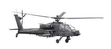 LEEUWARDEN holandie - JUN 11, 2016: Boeing AH-64 Apache Obraz Royalty Free