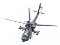 LEEUWARDEN holandie - JUN 11, 2016: Boeing AH-64 Apache Obrazy Stock