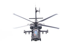 LEEUWARDEN holandie - JUN 11, 2016: Boeing AH-64 Apache Zdjęcia Stock