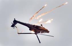 LEEUWARDEN holandie - JUN 11, 2016: Boeing AH-64 Apache Obraz Stock