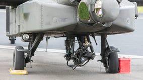 LEEUWARDEN holandie - JUN 11, 2016: Boeing AH-64 Apache Zdjęcie Royalty Free