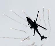 LEEUWARDEN holandie - JUN 10, 2016: Holender AH-64 Apache a Zdjęcie Royalty Free