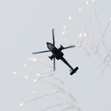 LEEUWARDEN holandie - JUN 10, 2016: Holender AH-64 Apache a Obraz Stock