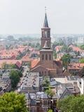 LEEUWARDEN, holandie - MAJ 28, 2016: Widok część Leeuwa zdjęcie stock