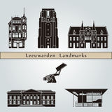 Leeuwarden landmarks and monuments Stock Photo