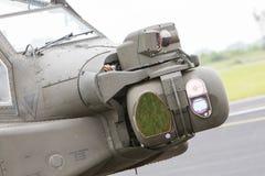 LEEUWARDEN NEDERLÄNDERNA - JUNI 11, 2016: Boeing AH-64 Apache Arkivbild