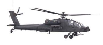 LEEUWARDEN NEDERLÄNDERNA - JUNI 11, 2016: Boeing AH-64 Apache Arkivbilder