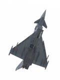 LEEUWARDEN NEDERLÄNDERNA - JUNI 11: Spanskt flygvapen Eurofig Arkivbilder