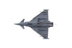 LEEUWARDEN NEDERLÄNDERNA - JUNI 11: Spanskt flygvapen Eurofig Royaltyfri Fotografi