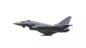 LEEUWARDEN NEDERLÄNDERNA - JUNI 11: Spanskt flygvapen Eurofig Royaltyfria Foton