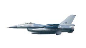 LEEUWARDEN NEDERLÄNDERNA - MAJ 26: Kämpe F-16 under en compa Royaltyfria Foton