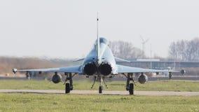 LEEUWARDEN, NEDERLAND - APRIL 11, 2016: Duitse Luchtmacht Eurof Royalty-vrije Stock Afbeelding
