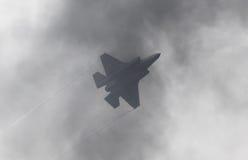 LEEUWARDEN, NEDERLAND - 11 JUNI, 2016: F-35 bliksem II F Stock Afbeeldingen