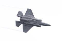 LEEUWARDEN, NEDERLAND - 11 JUNI, 2016: F-35 bliksem II F Royalty-vrije Stock Fotografie