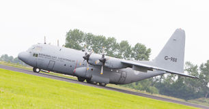 LEEUWARDEN, NEDERLAND - 10 JUNI, 2016: Nederlandse Luchtmacht Loc Stock Foto's
