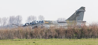 LEEUWARDEN, NETHERLANDS - APRIL 11, 2016: French Air Force Dassa Royalty Free Stock Photos