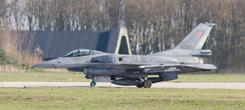LEEUWARDEN, THE NETHERLANDS - APRIL 11, 2016: Polish Air Force L Royalty Free Stock Image