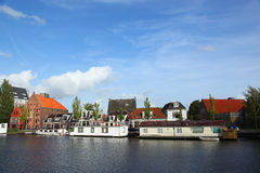 Leeuwarden Netherlands. Leeuwarden is a city in the Netherlands. It is the capital city of the province of Friesland and situated in the northern part of the Stock Photos