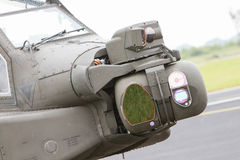 LEEUWARDEN, THE NETHERLANDS - JUN 11, 2016: Boeing AH-64 Apache Stock Photography