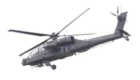LEEUWARDEN, THE NETHERLANDS - JUN 11, 2016: Boeing AH-64 Apache Royalty Free Stock Photography