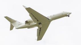 LEEUWARDEN, THE NETHERLANDS - JUNE 10: Air Force Gulfstream Aero Royalty Free Stock Image
