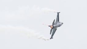 LEEUWARDEN NETHERLANDS-JUNE 10, 2016: Belgia - siły powietrzne G Zdjęcia Royalty Free