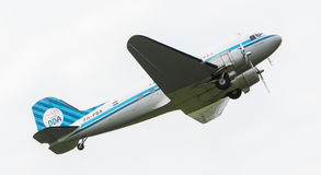 LEEUWARDEN, THE NETHERLANDS - JUNE 11, 2016: Dakota (DC-3) PH-PB Royalty Free Stock Photography