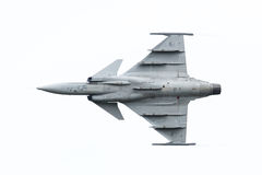 LEEUWARDEN, THE NETHERLANDS-JUNE 10: Modern tactical fighter jet Stock Photography