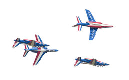 LEEUWARDEN, THE NETHERLANDS-JUNE 11, 2016: Pilots of Patrouille Royalty Free Stock Images