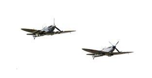 LEEUWARDEN, THE NETHERLANDS - JUNE 10, 2016: Vintage Spitfire fi Royalty Free Stock Image