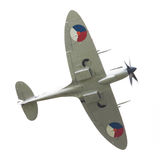 LEEUWARDEN, THE NETHERLANDS - JUNE 10, 2016: A vintage Spitfire Royalty Free Stock Photos