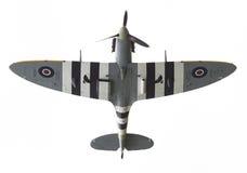 LEEUWARDEN, THE NETHERLANDS - JUNE 10, 2016: A vintage Spitfire Royalty Free Stock Photo
