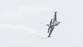 LEEUWARDEN NETHERLANDSEN-JUNE 10, 2016: Belgien - flygvapenG Royaltyfria Foton