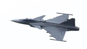 LEEUWARDEN, OS PAÍSES BAIXOS 10 DE JUNHO: Avião de combate tático moderno Imagens de Stock