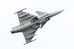 LEEUWARDEN, OS PAÍSES BAIXOS 10 DE JUNHO: Avião de combate tático moderno Fotos de Stock