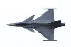 LEEUWARDEN, OS PAÍSES BAIXOS 10 DE JUNHO: Avião de combate tático moderno Imagem de Stock Royalty Free