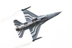 LEEUWARDEN, OS PAÍSES BAIXOS 10 DE JUNHO DE 2016: Bélgica - força aérea G Fotografia de Stock
