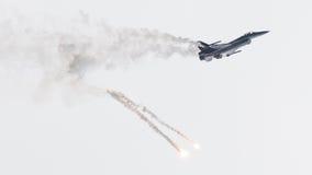 LEEUWARDEN, OS PAÍSES BAIXOS 10 DE JUNHO DE 2016: Bélgica - força aérea G Fotografia de Stock Royalty Free