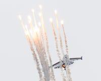 LEEUWARDEN, OS PAÍSES BAIXOS 10 DE JUNHO DE 2016: Bélgica - força aérea G Foto de Stock