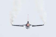 LEEUWARDEN, OS PAÍSES BAIXOS 10 DE JUNHO DE 2016: Bélgica - força aérea G Fotos de Stock Royalty Free