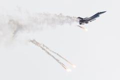 LEEUWARDEN, OS PAÍSES BAIXOS 10 DE JUNHO DE 2016: Bélgica - força aérea G Imagens de Stock