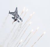 LEEUWARDEN, OS PAÍSES BAIXOS 10 DE JUNHO DE 2016: Bélgica - força aérea G Imagens de Stock Royalty Free