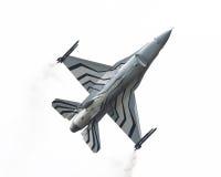 LEEUWARDEN, OS PAÍSES BAIXOS 10 DE JUNHO DE 2016: Bélgica - força aérea G Foto de Stock Royalty Free