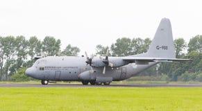 LEEUWARDEN, OS PAÍSES BAIXOS - 10 DE JUNHO DE 2016: Lugar holandês da força aérea Fotos de Stock Royalty Free