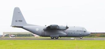 LEEUWARDEN, OS PAÍSES BAIXOS - 10 DE JUNHO DE 2016: Lugar holandês da força aérea Imagens de Stock Royalty Free