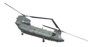 LEEUWARDEN, PAÍSES BAJOS - JUNI 11 2016: Chinook CH-47 h militar Fotografía de archivo libre de regalías