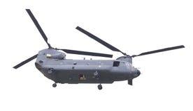 LEEUWARDEN, PAÍSES BAJOS - JUNI 11 2016: Chinook CH-47 h militar Fotos de archivo libres de regalías