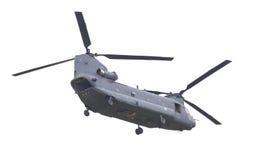 LEEUWARDEN, PAÍSES BAJOS - JUNI 11 2016: Chinook CH-47 h militar Foto de archivo