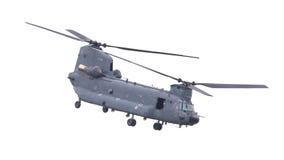 LEEUWARDEN, PAESI BASSI - JUNI 11 2016: Chinook CH-47 h militare Fotografie Stock