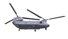 LEEUWARDEN, PAESI BASSI - JUNI 11 2016: Chinook CH-47 h militare Fotografie Stock Libere da Diritti